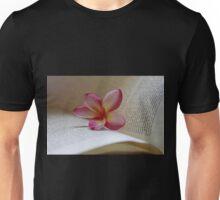 Frangipani And Book Unisex T-Shirt