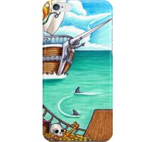 End of the Plank iPhone Case/Skin