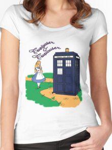 Curiouser & Curiouser Women's Fitted Scoop T-Shirt