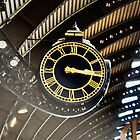 Timepiece - York Station Grand Timepiece. by Kevin Bailey