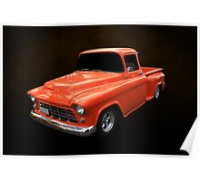 55 Chevy Stepside Poster
