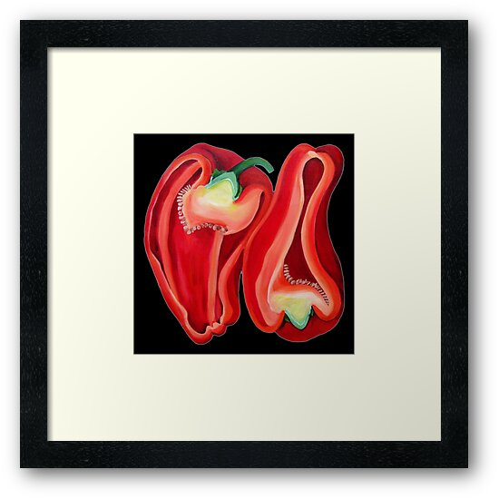 Capsicum Red by marlene veronique holdsworth