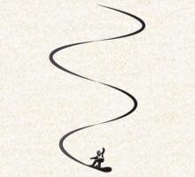 Snowboard lines by David Geoffrey Gosling (Dave Gosling)