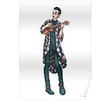 Ukelele Kimono Poster