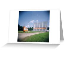 The Sunset Drive-In Theater, Mansfield, Ohio Greeting Card