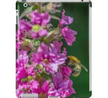 Bumble Bee on Purple Flower iPad Case/Skin