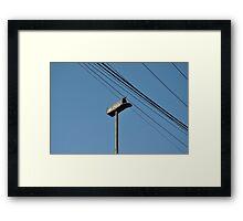 """ Air Mail "" Framed Print"