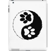 furry yin yang  iPad Case/Skin