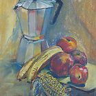 Coffee Pot Still Life by Peter Johnson