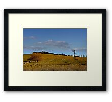 Blayney NSW - Country Roads No 1 Framed Print