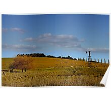 Blayney NSW - Country Roads No 1 Poster