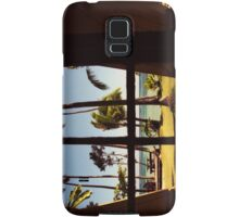 Tropical Fiji Beach Scene Samsung Galaxy Case/Skin