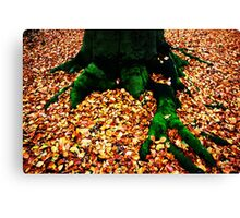 Green Fingers Canvas Print