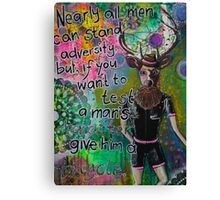 A Gentle Character Canvas Print