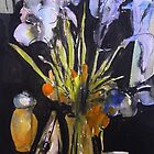 Irises by Peter Johnson