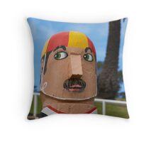 Bollards 1, Geelong  Throw Pillow