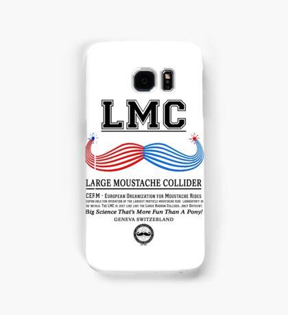 LMC - The Large Moustache Collider Samsung Galaxy Case/Skin