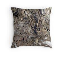 Patterns in Driftwood (2) Throw Pillow
