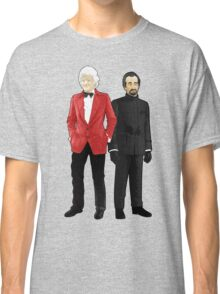 Doctor Who - Third Doctor and The Master Classic T-Shirt