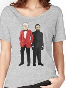 Doctor Who - Third Doctor and The Master Women's Relaxed Fit T-Shirt