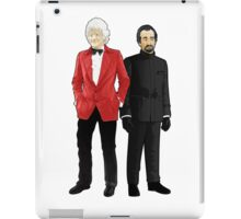 Doctor Who - Third Doctor and The Master iPad Case/Skin