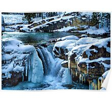 Elbow Falls Poster
