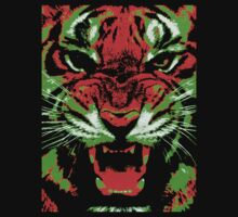 Pop Art Tiger Kids Clothes