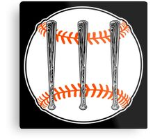 Jack White III - Baseball Logo (San Francisco Giants Edition) Metal Print