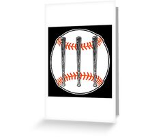 Jack White III - Baseball Logo (San Francisco Giants Edition) Greeting Card