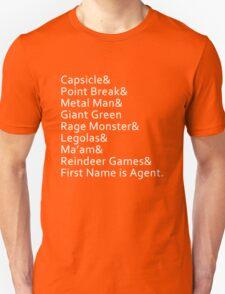 Nicknames T-Shirt