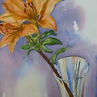 Orange Lily by Peter Johnson