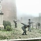 """Performing in the fog 3 by Antonello Incagnone """"incant"""""""