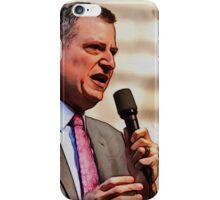 Bill De Blasio iPhone Case/Skin