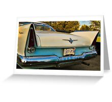 Regent Tail Fins Greeting Card