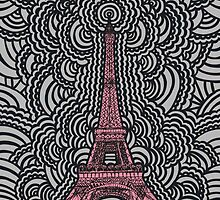 Eiffel Tower Drawing Meditation by kpdesign
