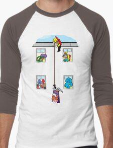 Hang in there! Men's Baseball ¾ T-Shirt