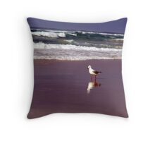 one or two birds? Throw Pillow