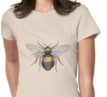 A painting of a bumblebee Womens Fitted T-Shirt