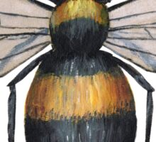A painting of a bumblebee Sticker
