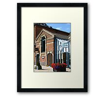 The Bistro On The Quay Framed Print