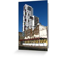 The Mill and Ipswich Docks Regeneration Greeting Card