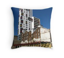 The Mill and Ipswich Docks Regeneration Throw Pillow