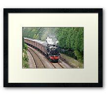Scarborough Spa Express Framed Print