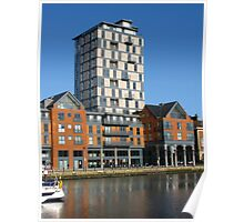 Appartments, Ipswich Waterfront Poster