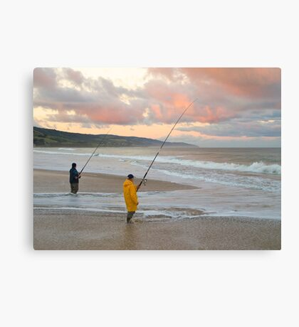 Ocean Fishing, Apollo Bay, Victoria. Canvas Print