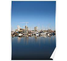 ' What Lies Beneath ? ' Ipswich Waterfront Poster