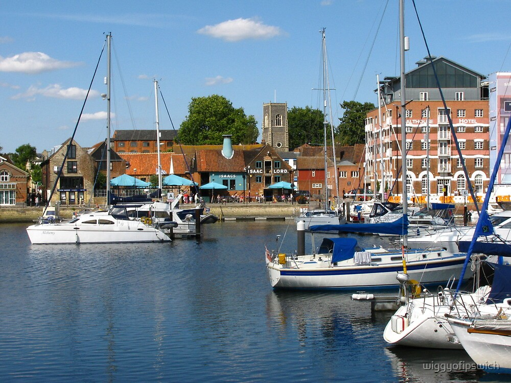Afternoon On The Ipswich Waterfront by wiggyofipswich