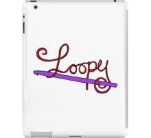 Loopy about Crochet iPad Case/Skin