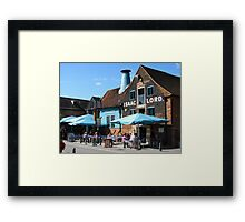 Isaacs formerly The Vaults, Ipswich Framed Print
