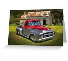 1953 Classic Pickup Greeting Card